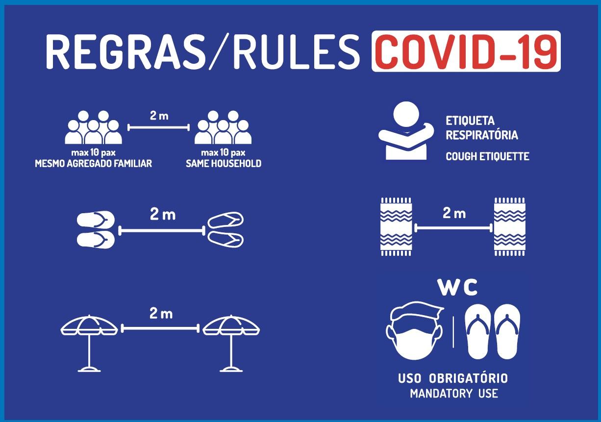 Regras COVID 19 a utilizar nas praias de Machico