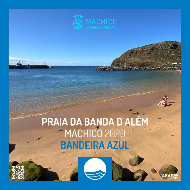 Praia da Banda d'Além galardoada com Bandeira Azul