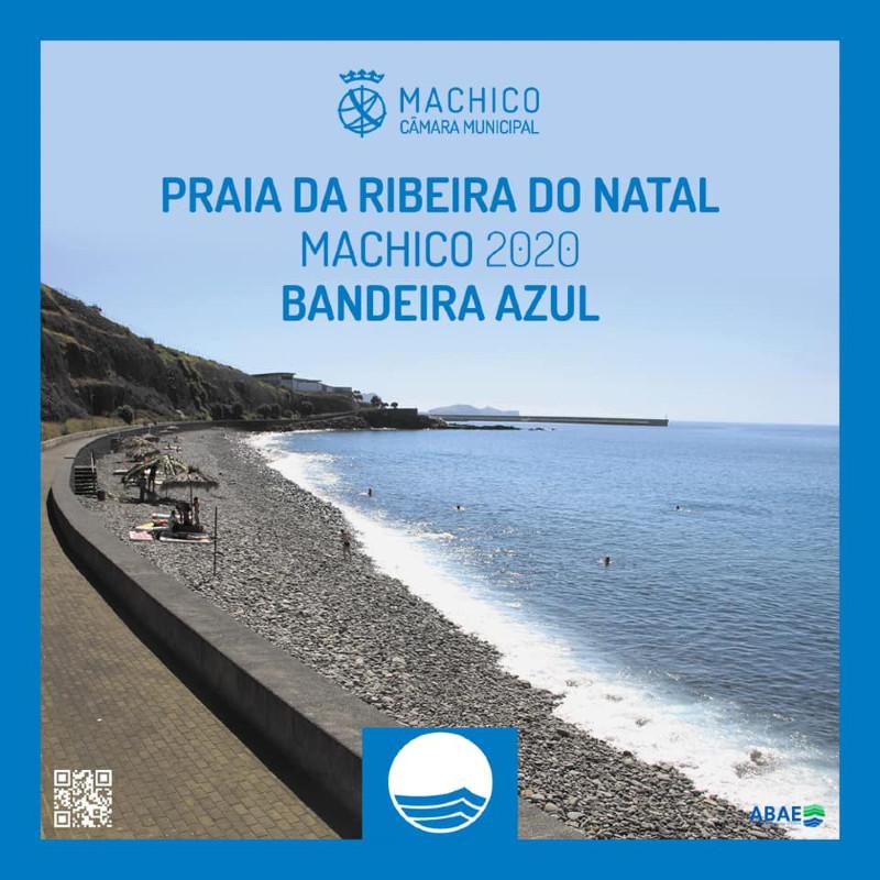 Bandeira Azul atribui novo galardão à praia da Ribeira Natal