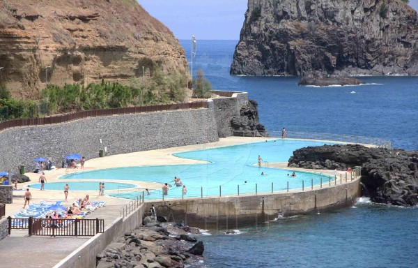 Reabertura das piscinas do Porto da Cruz