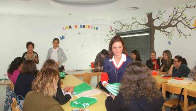 Reunião Eco-Escola na Biblioteca Municipal Machico