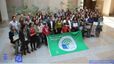 Entrega de certificados de Qualidade Eco-Escolas