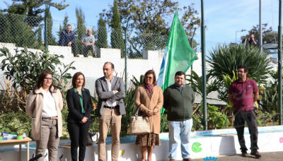 Hastear de Bandeira Verde: EB 1º ciclo de Água de Pena