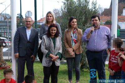 Hastear da Bandeira Eco-Escolas: EB do 1º Ciclo / Pré Eng. Santos Costa