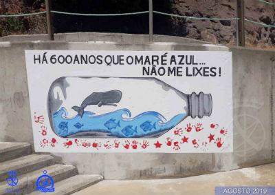 Projeto: Há 600 anos que o mar é azul, não me lixes!