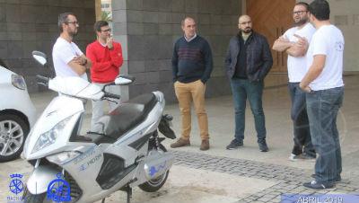 Encontro de veículos elétricos em Machico