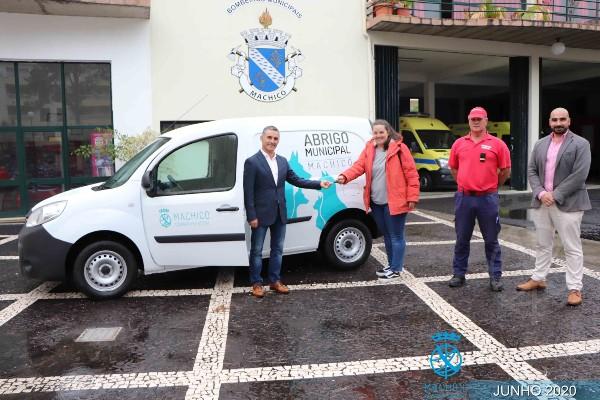 Aquisição de viatura para o Abrigo Municipal de Machico